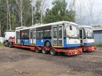 Первые московские троллейбусы прибыли в Нижний Новгород